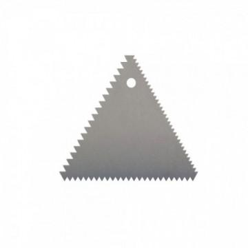 PEINE TRIANGULAR 9.5 x 8 cm