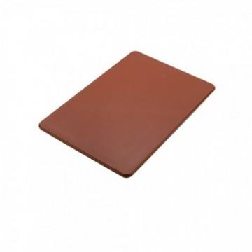 TABLA DE CORTE CAFE 30x45 CM